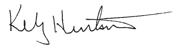 Kelly Huntsman Signature