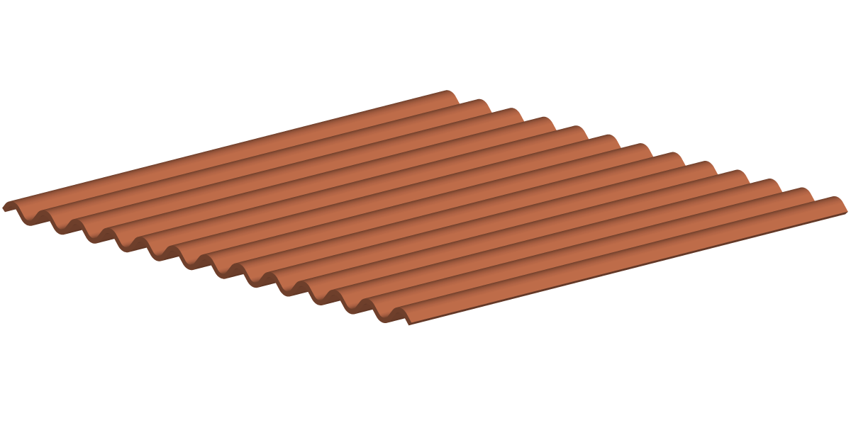 rustic corrugated metal roofing